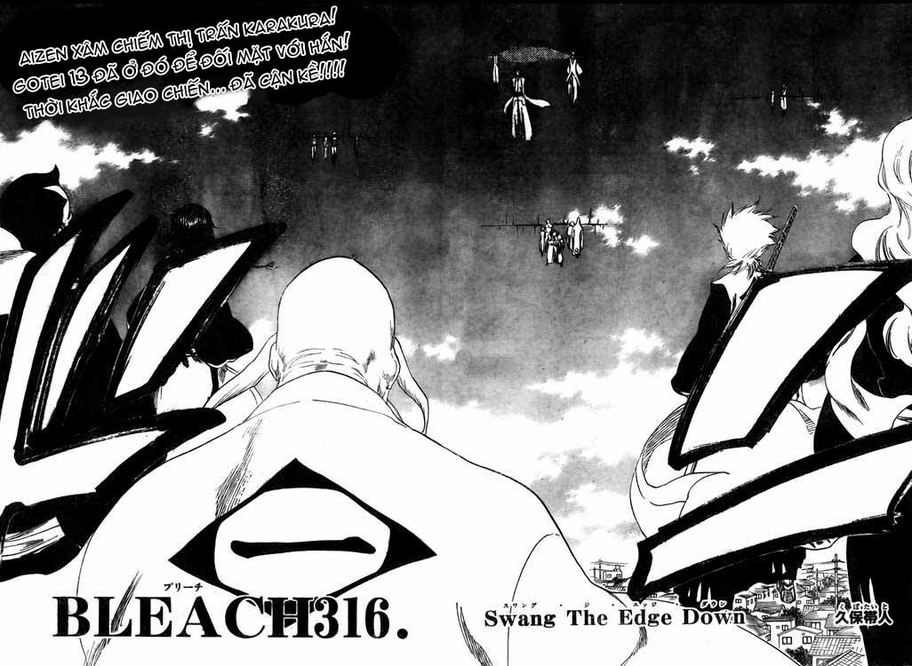 Bleach chapter 316 trang 4