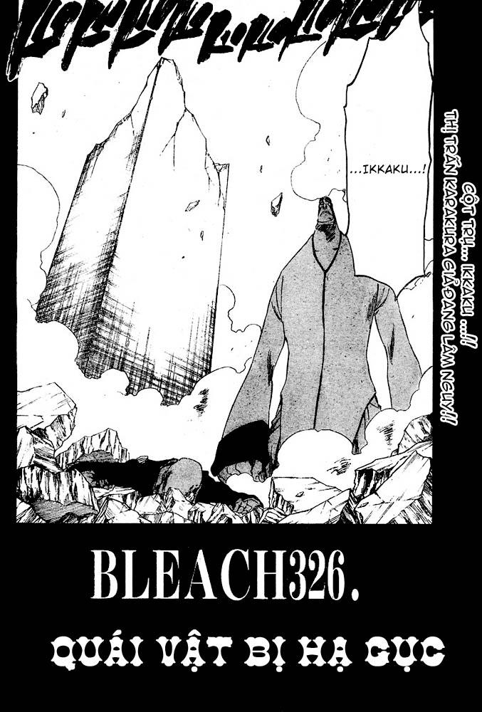 Bleach chapter 326 trang 2
