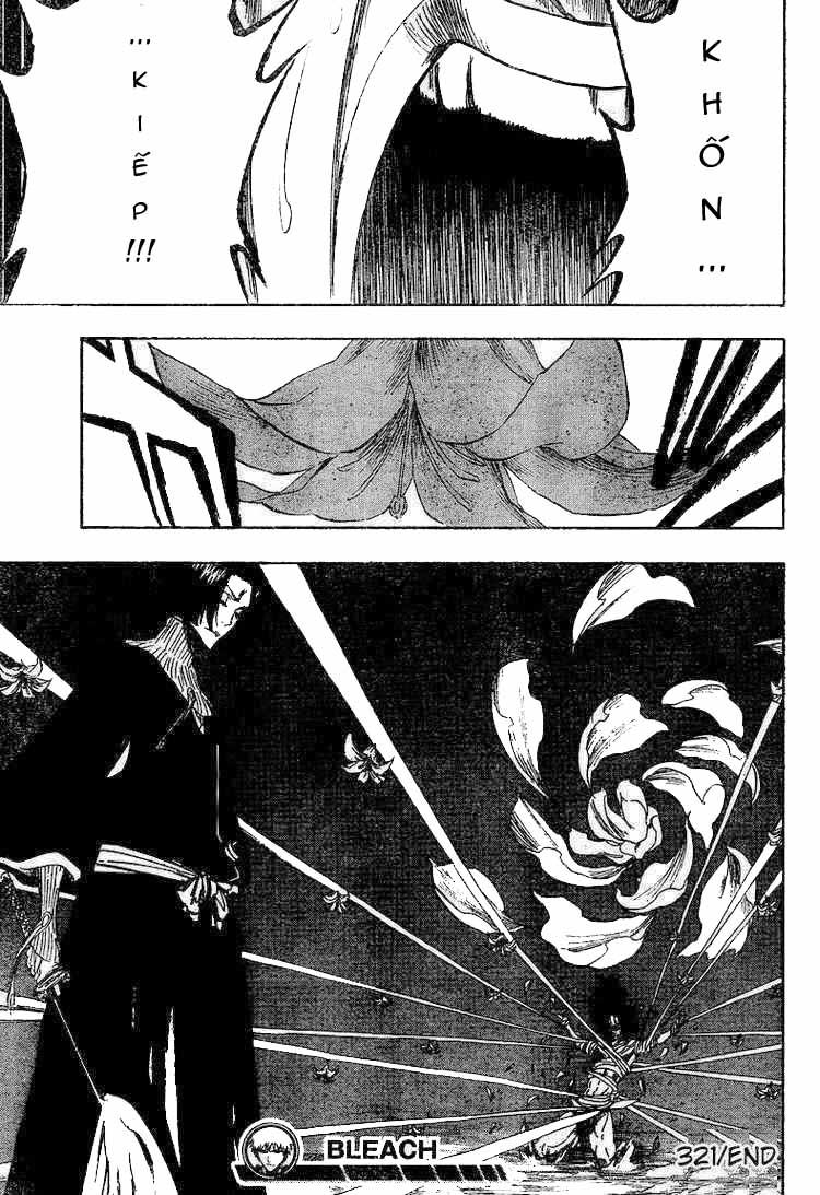 Bleach chapter 321 trang 19