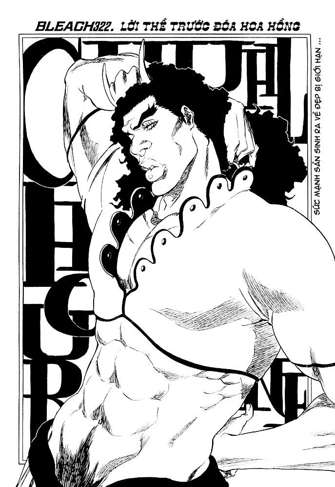 Bleach chapter 322 trang 8