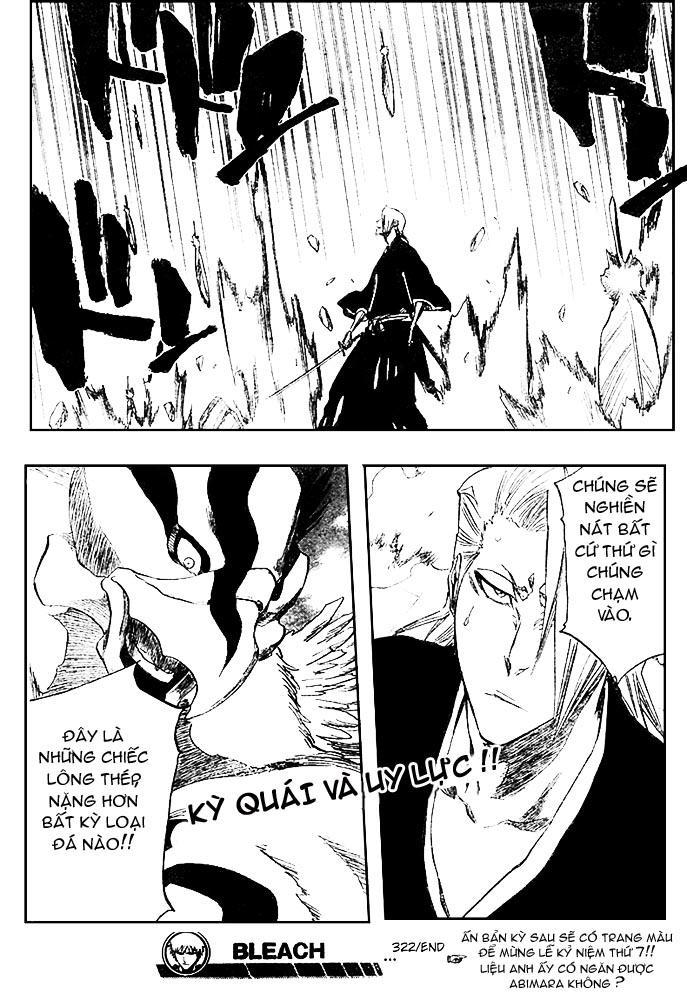 Bleach chapter 322 trang 19