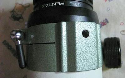 Pentax 75SDHF 尋星鏡座。