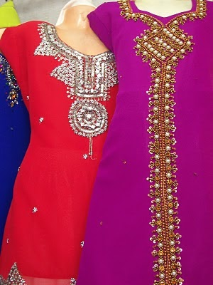 Hand Work Salwar Kameez Dress Hand Work Embroidery Party