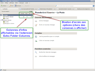 Thunderbird 3 - Extension Extra Folder Columns