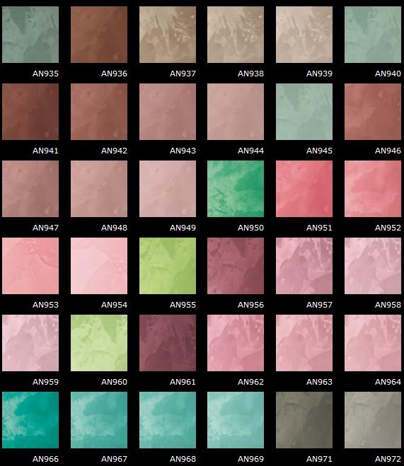 Pitture&Decorazioni: Cartelle Colori