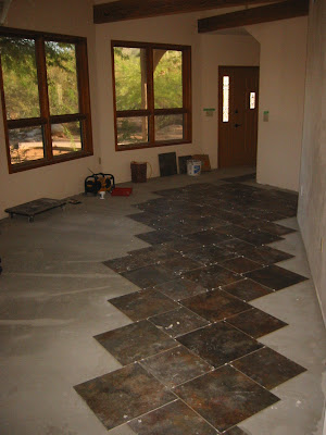 Adventures At The Tucson Round House Tile Flooring