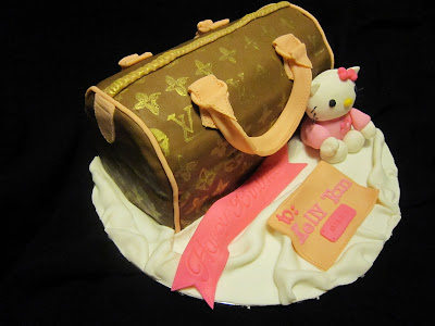 Cake2u Speedy Lv Cake With Hello Kitty