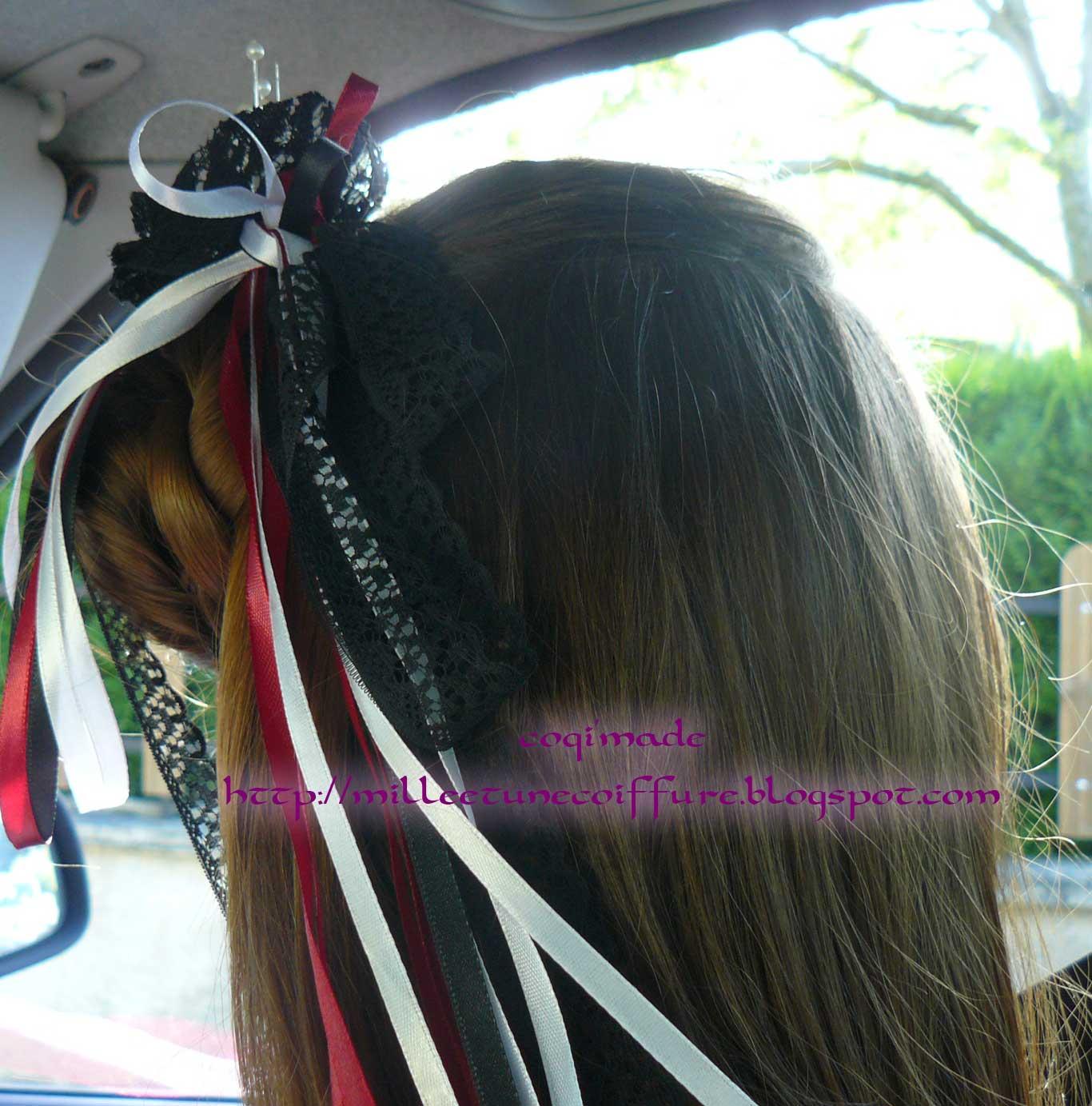 1001 coiffures: Tutoriel du petit chignon tressé sur le côté
