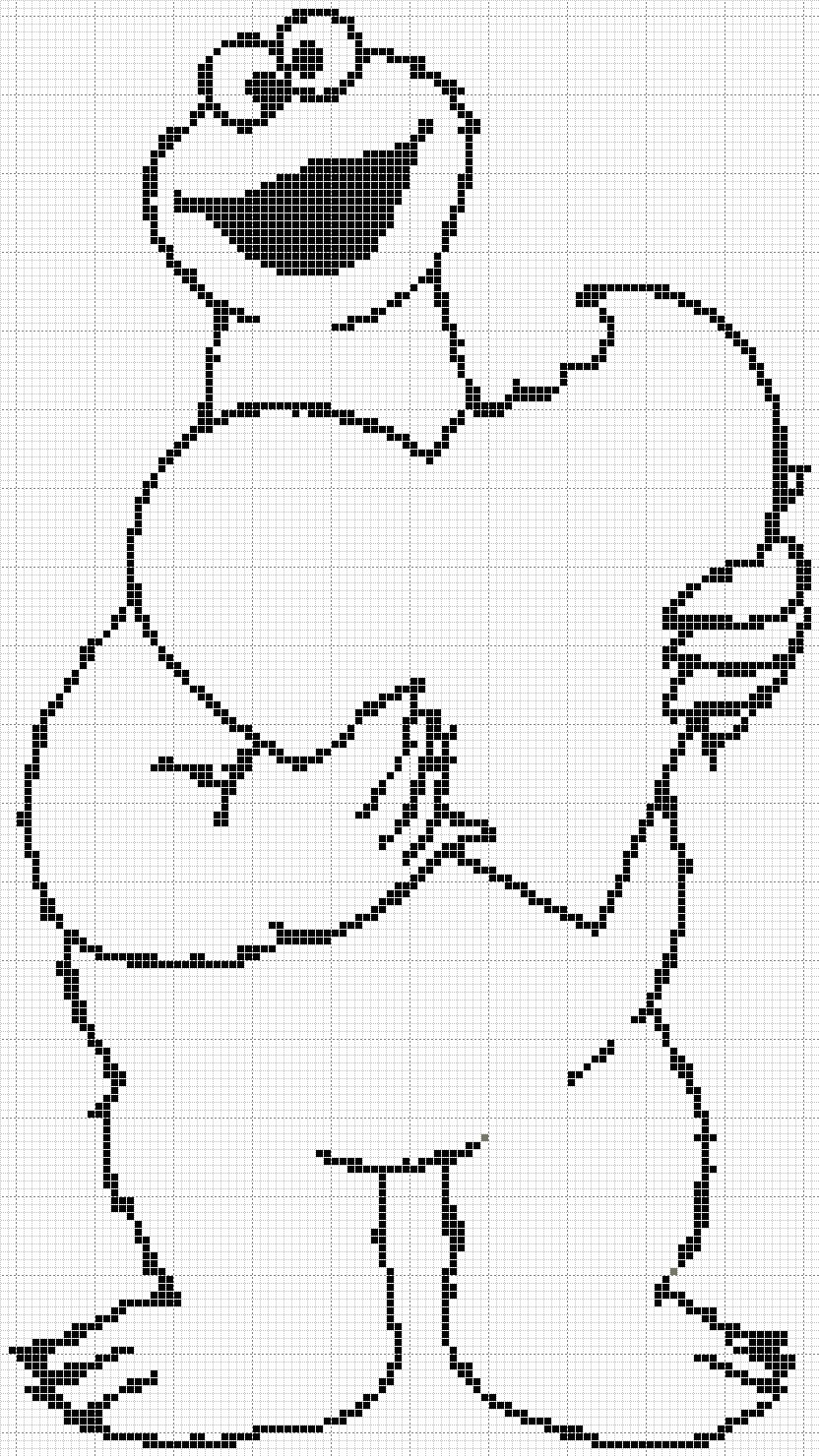 baby cookie monster coloring pages sesame street cookie monster - Baby Cookie Monster Coloring Pages