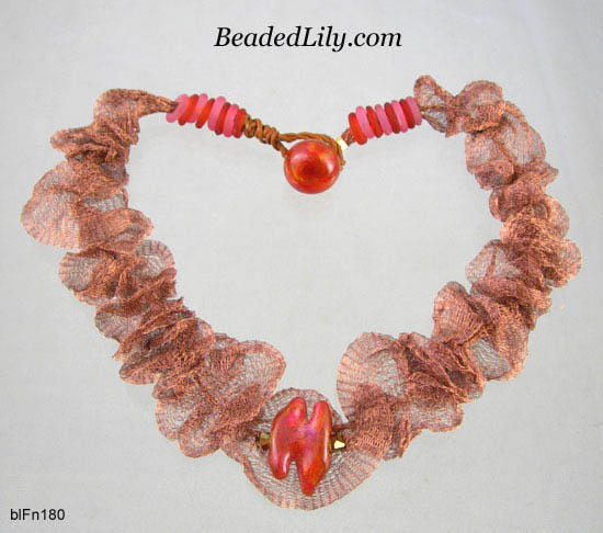 Knitted Wire Mesh Jewellery Making   Mesh And Nets In Jewelry Making Tutorials And Inspiration The