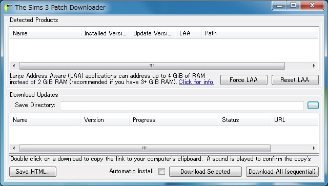 The Sims 3 Info JP: The Sims 3 Patch Downloader & Large ...