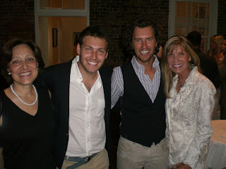 1675dddf4b5 Elliott Bisnow and his mother Margot with my mom Pam and I