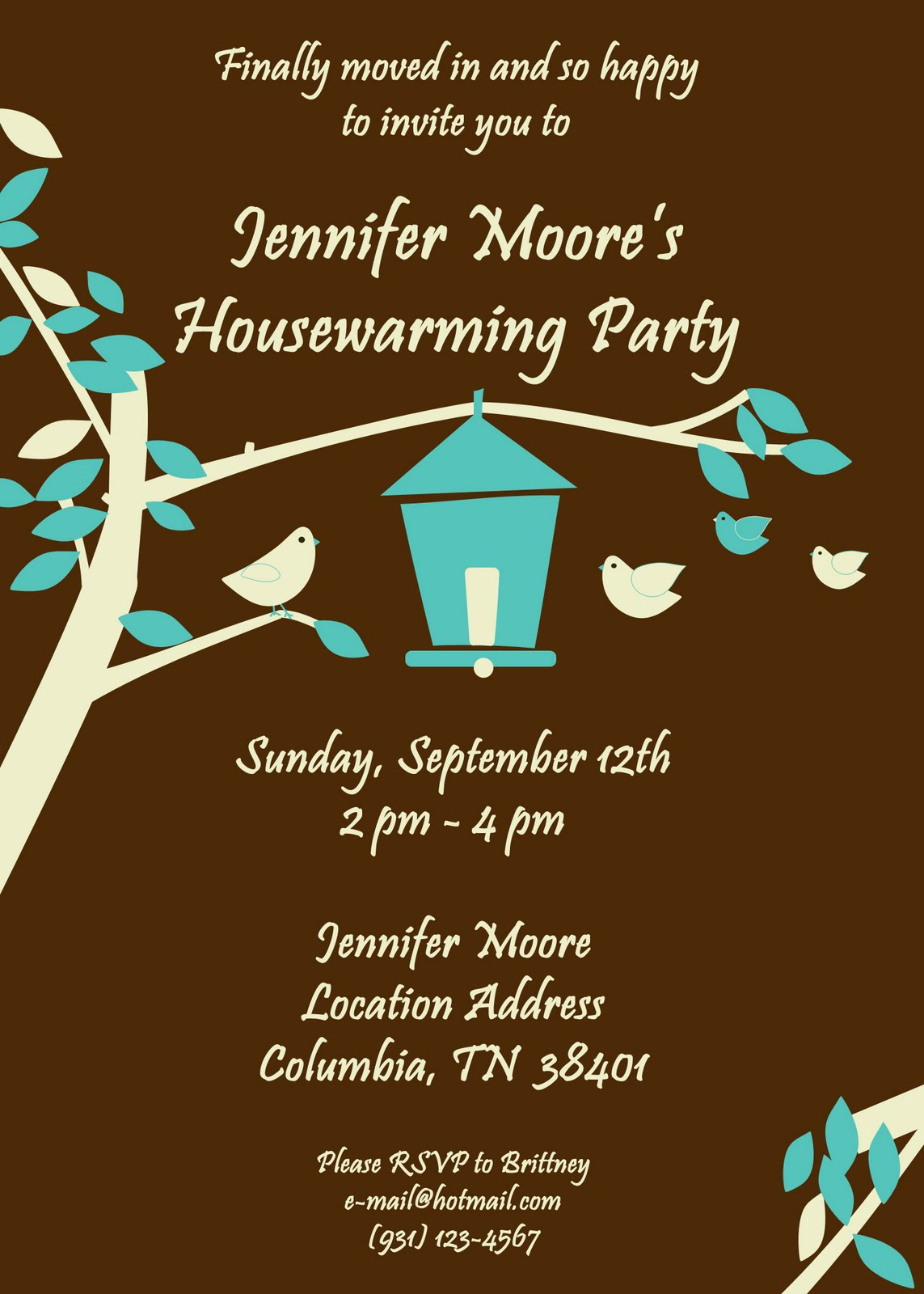 Fanci Cakes & More: Housewarming Party - Cake & Invitation