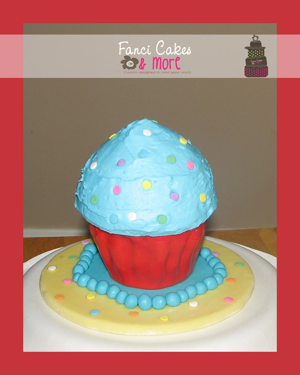 Mickey Mouse 1st Birthday Smash Cake: Fanci Cakes & More: Mickey Mouse 1st Birthday Cake