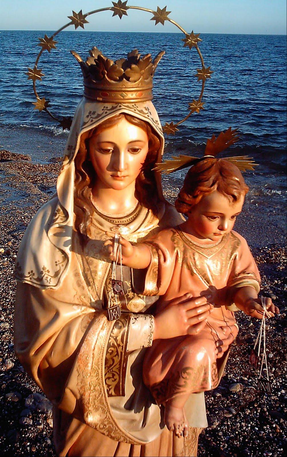 Nuestra Madre Del Carmen De íllora Poesías A La Virgen Del