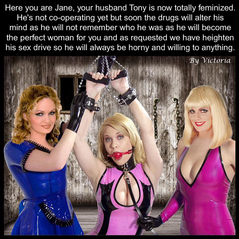 I feminized my husband with hormones