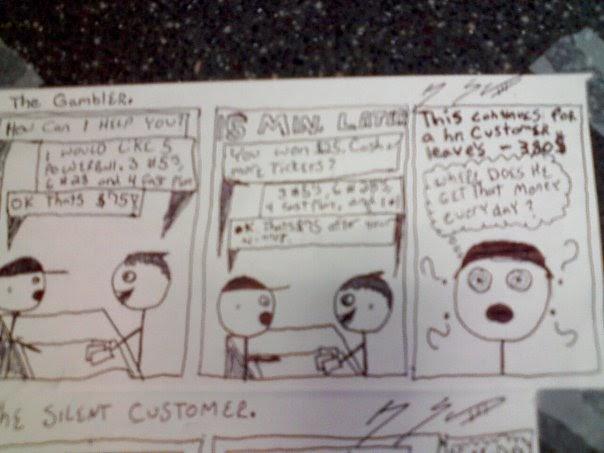 Cashier Cartoons: Cartoon Cashier: A Few Cartoon Cashier Comics