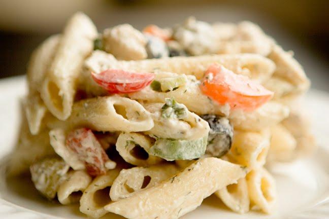 En Penne Pasta Salad