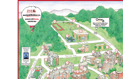 jacksonville state university campus map Garrison S Map Revisions Jsu jacksonville state university campus map