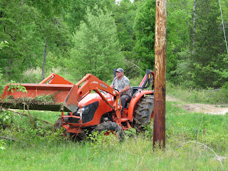 At The Farm Clearing Old Fence Rows