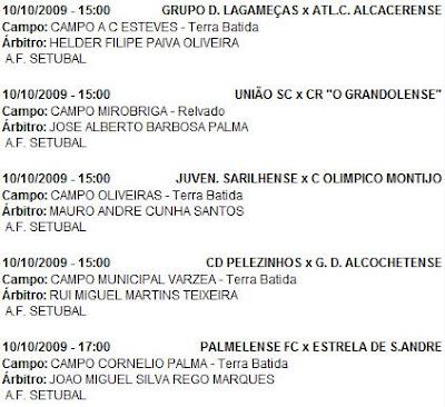 Futebol  Juniores Setúbal - 2ª divisão - Estreia do União SC 470598f6393ae