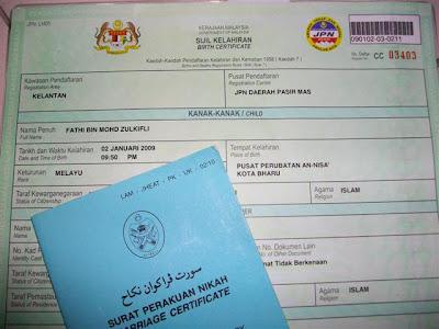 Bersalin Jangan Lupa Sijil Nikah Mohdzulkifli Com