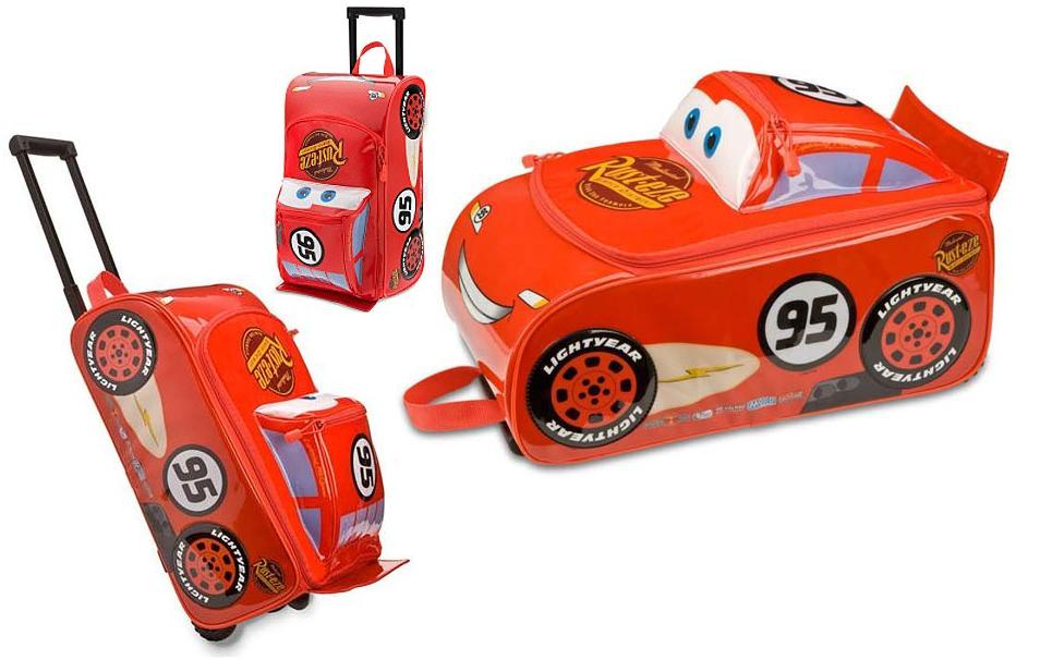 3e51a52476bc My Noble Baby: Disney Pixar Cars McQueen Rolling Luggage