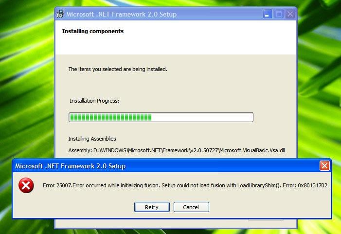 Net framework 2. 0 issue on windows 10 64bit.