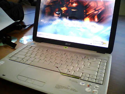 CENBORN: Install Windows XP on Acer Aspire 4710 - without