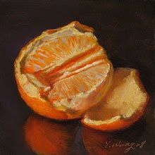 Impressionist Orange by Ange Wang