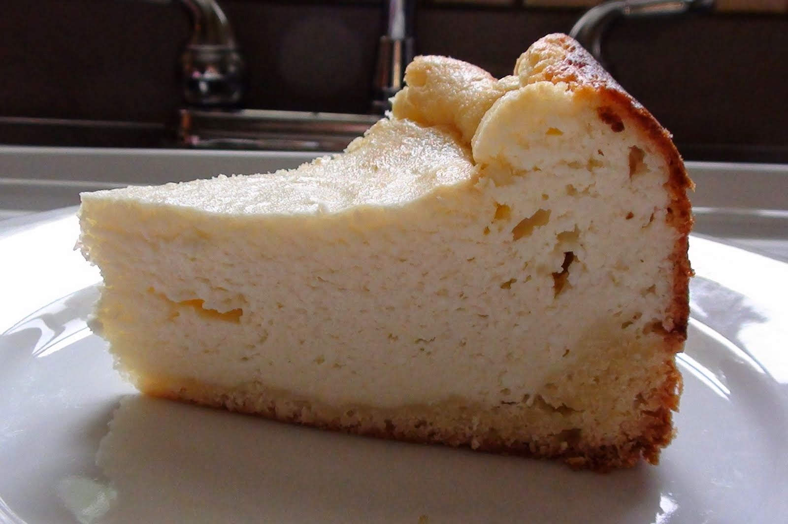 Dry Curd Cottage Cheese Cake