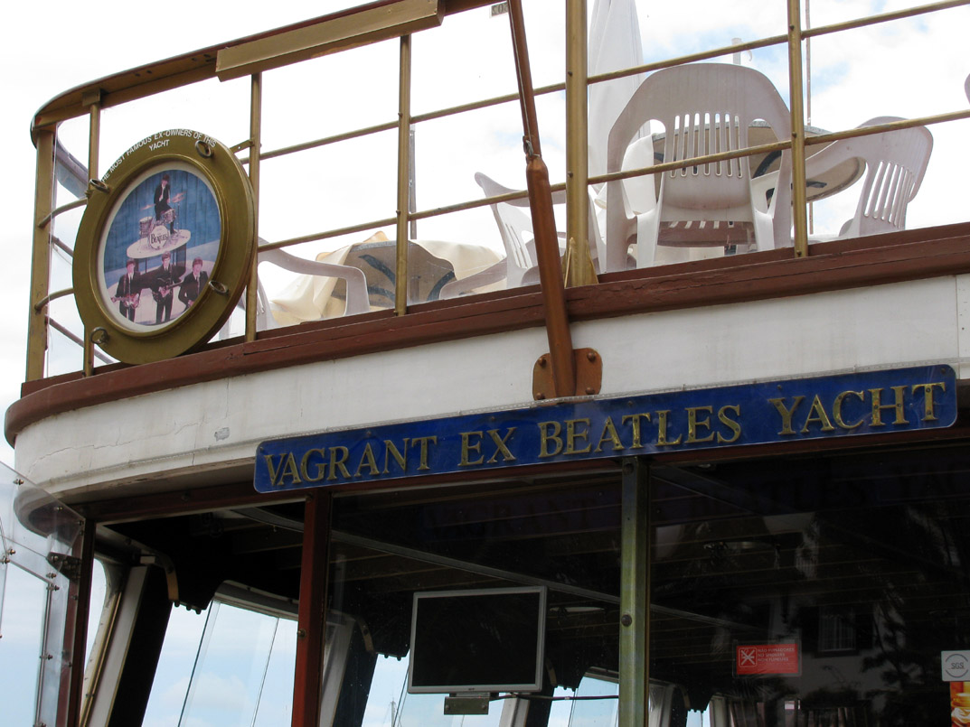 the Beatles yacht