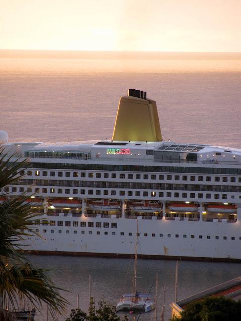 Aurora cruise ship