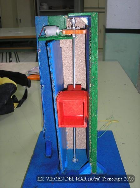Proyectos de tecnolog a ascensor for Materiales para hacer un ascensor