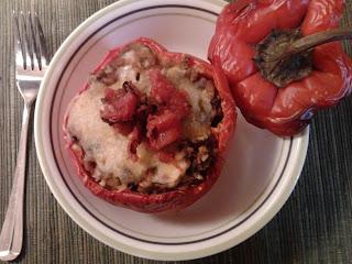 Vegan Southwest Stuffed Peppers 17