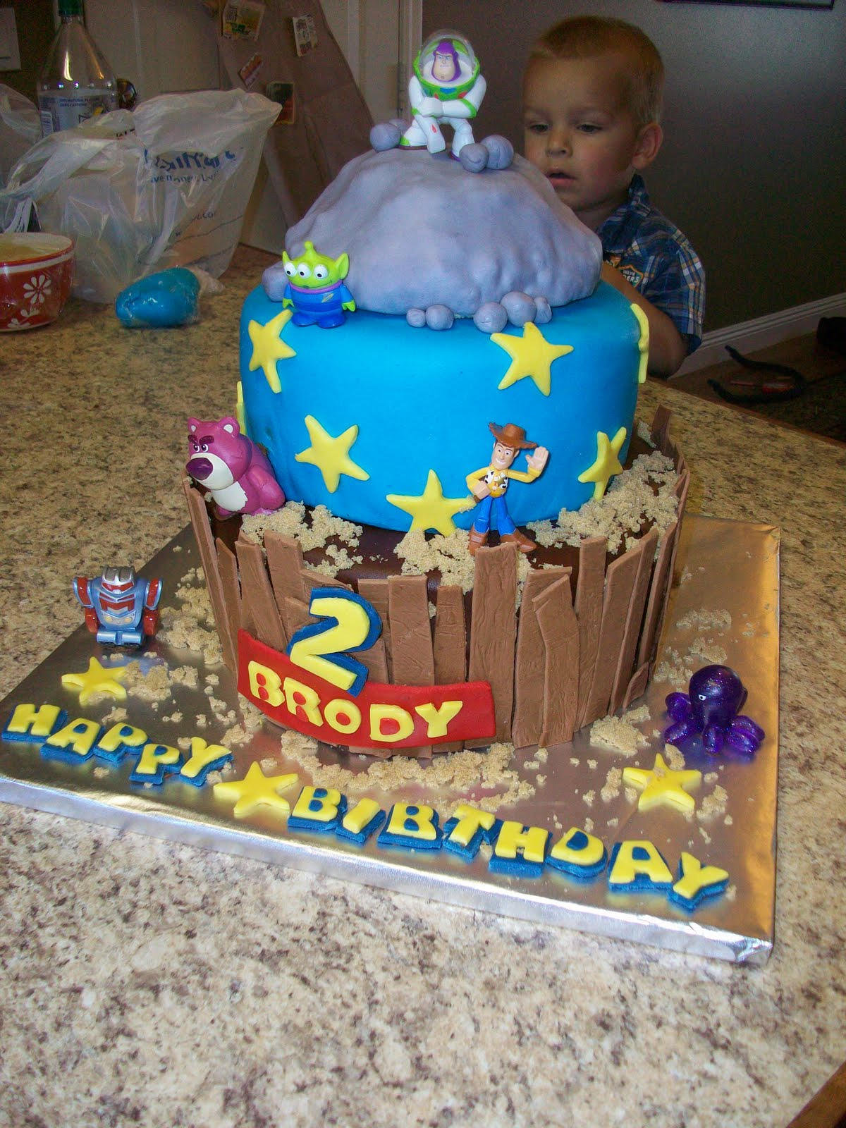 The Ardern Family Toy Story Cake