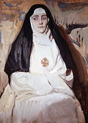 Una monja, Joaquín Sorolla Bastida, Retratos de Joaquín Sorolla, Joaquín Sorolla y Bastida, Joaquín Sorolla, Pintor español, Retratista español, Pintores Valencianos