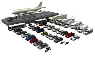 Download Sketchup Components: Transportation - SketchUp