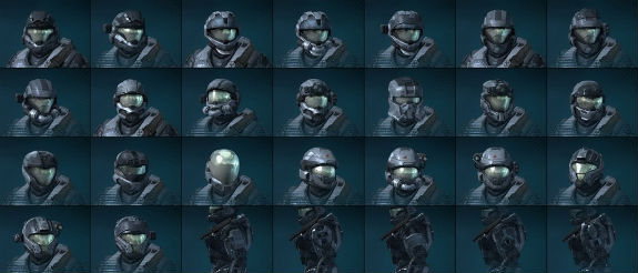 Halo Reach Guides, Tips, and Wiki: Halo Reach Rank Up Guide