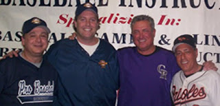 PBI's Doug Cinnella and Dave Trautwein along with Clint Hurdle and Sam Perlozzo