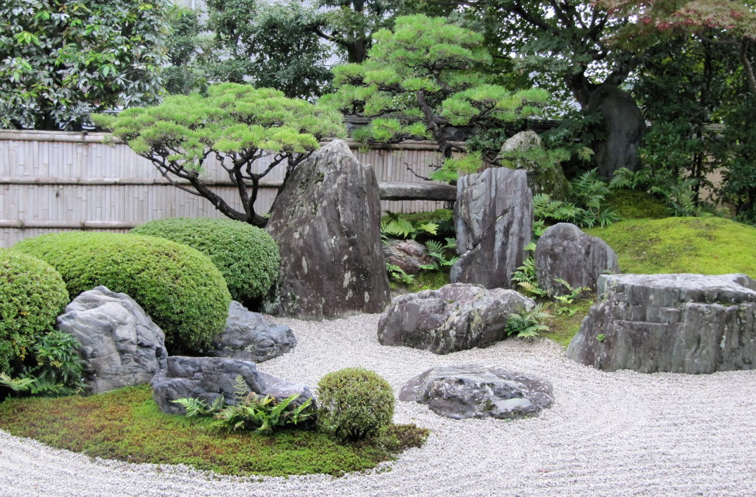 Layers to plan or not to plan - How to make a japanese rock garden ...