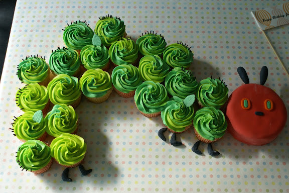 Very Hungry Caterpillar Cake Cupcakes By Coco Land