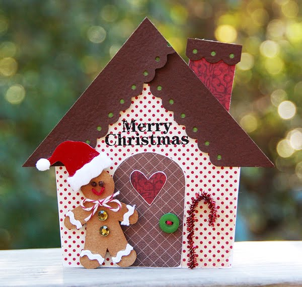 A House Of Cards: Cupcards To Go November 'Ribbon Candy' Kit