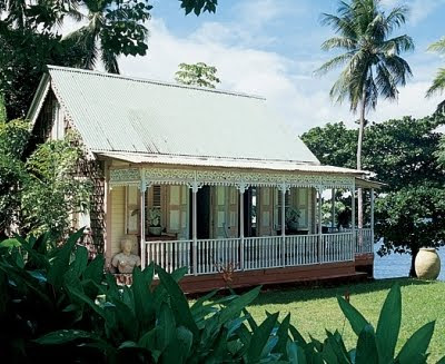 historic Chattel house on St. Lucia