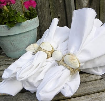 Shell Napkin Rings