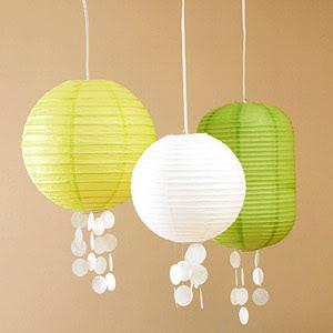 make shell lantern