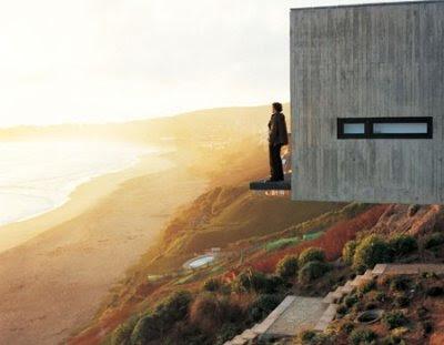 unique modern coastal home