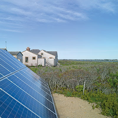 Nantucket island cottage off the grid