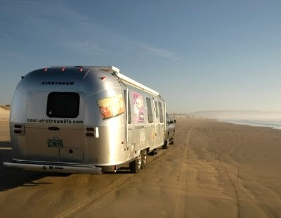 Airstream trailer Travel