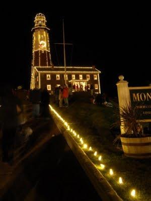 Christmas Light Displays Coastal Towns Usa Coastal